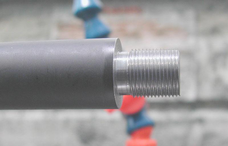 barrel threading machine